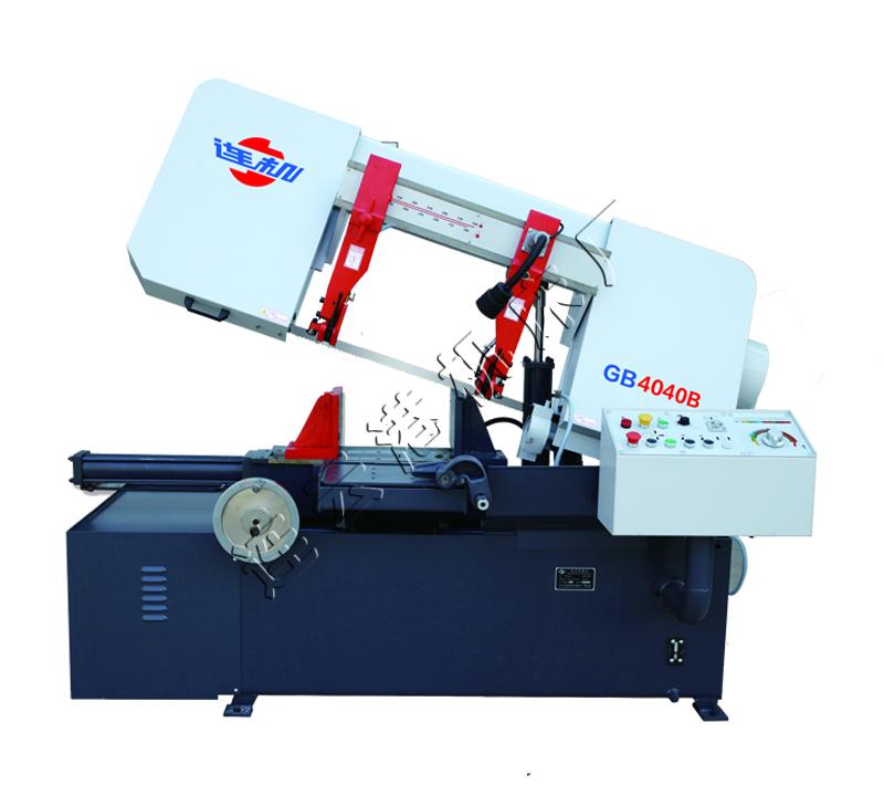 GB4040B半自动卧式带锯床