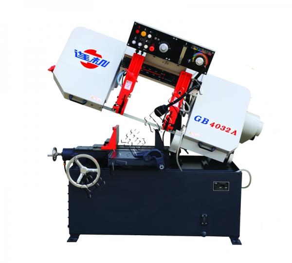 辽宁GB4032A半自动卧式带锯床