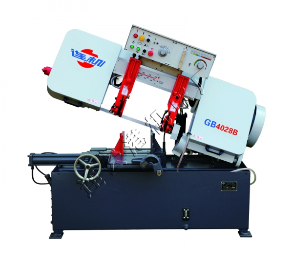 GB4028B半自动卧式带锯床