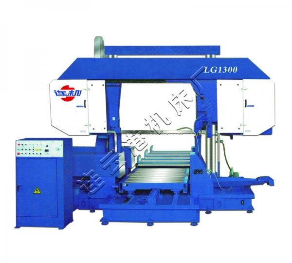 上海LG1300龙门式双立柱卧式带锯床